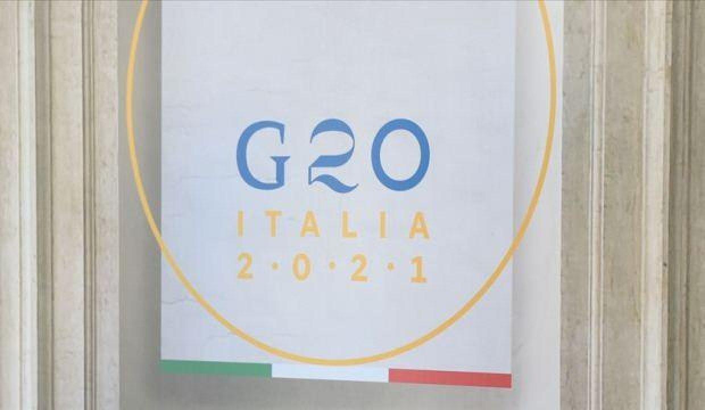 Pandeminin yüz yüze ilk G20 Zirvesi Roma'da